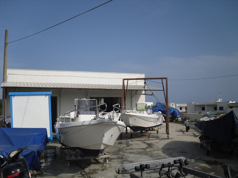 Rimessaggio Invernale Barche Santa Maria di Leuca