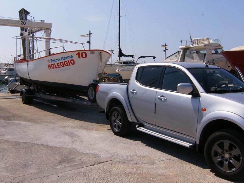 trasporto imbarcazioni leuca