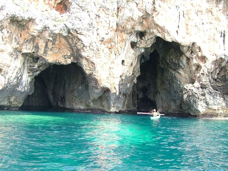 grotte di levante leuca
